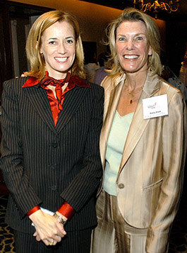 Blythe Masters and Ginny Clark